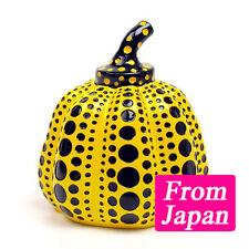 Yayoi Kusama Object Pumpkin With signature box Paper Weight Art Goods Japan