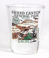 GRAND CANYON ARIZONA NATIONAL PARK SERIES COLLECTION GLASS SHOTGLASS