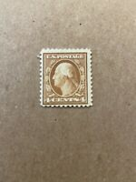 Us Stamp Scott #503 Washington 4 Cent Mint Hinged