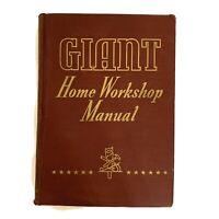 Vintage Giant Home Workshop Manual handbook hardcover By Popular Science 1941