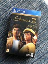 Shenmue III Collector's Edition (PS4) BRAND NEW - *RARE & SOLD OUT EVERYWHERE*