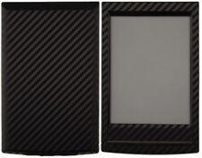 Skinomi Carbon Fiber Black Skin+Screen Protector for Sony Reader WiFi PRS-T1