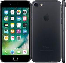 "Apple iPhone 7 128GB 4.7"" Retina Display 4G GSM BLACK UNLOCKED Smartphone SRF"