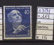 FRANCOBOLLI GERMANIA BERLINO USATI N°113 (A3181)