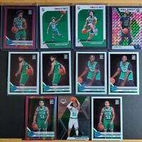 HUGE 2019-20 Boston Celtics RC Panini Optic Mosaic Hoops Rookie Lot Pink Prizm