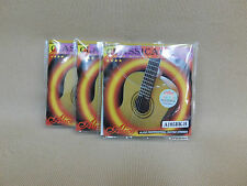 x3 Alice A105BK-H (Black Hard Tension) Pro Classical Guitar Strings - 3 Pack