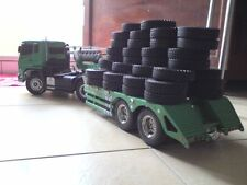 1 X 1/14 Tractor Truck Trailer Climbing Car Rubber Tires For Tamiya 1:14 1 pcs
