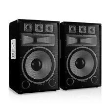 Paire Enceintes sono Skytec Tx15 Haut parleur 38cm PA Set DJ Speaker Baffle 250w