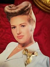 broche Christian Dior Vintage 80's Plaque Or