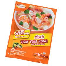 Ajinomoto RosDee Menu Tom Yum Kung Thai Soup Classic Thai Food Recipe 60g
