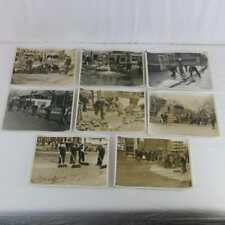 Springfield MA 1936 Flood WPA Photographs Original Gas Stations Street Scenes