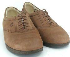 SAS Whisper Oxford Women's Size 6 W Brown Suede Tripad Comfort Lace Up Shoes USA