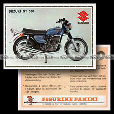 #pnsm75.168 ★ SUZUKI GT 750 ★ Panini Super Moto 75
