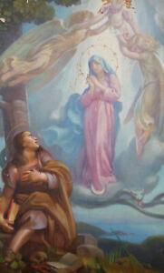 For Restoration - Giorgio Matteo Aicardi (1891-1985) - Oil, Spiritual Scene