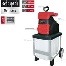 Scheppach Elektro-Leisehäcksler GS50, 2800 W, max. 45mm, autom.