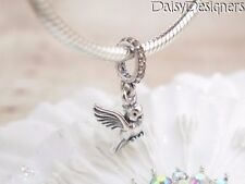 NEW Authentic PANDORA Sterling Silver DOVE OF PEACE Charm 791394CCZ RETIRED