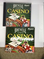 Microsoft Game Studios Bicycle Games Casino PC CD-ROM WITH SLIP COVER