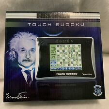 Einstein Touch Sudoko Handheld Electronic Game New In Box