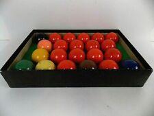 Vitalite Snooker Balls Set Made in England EUC