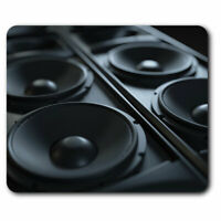 Computer Mouse Mat - Awesome Music Speakers DJ Office Gift #14351