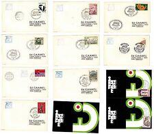 Lotto Cartoline Primo giorno emissione Treni Italia '74
