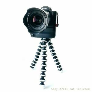 TRIPOD FLEXIBLE STAND MOUNT FOR DSLR DIGITAL CAMERA MIC LED  WITH 360 BALL HEAD