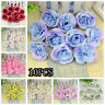 Ornament Party Supply Home Decor Silk Rose Wreath Artificial Flower Head Floral