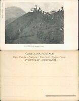 CLUSONE SPLENDIDA PANORAMICA DEL MONTE CROSIO -N.49595