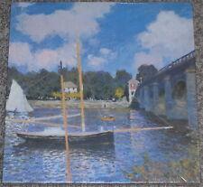 1989 Monet / Bridge at Argenteuil 500+ Pc Puzzle SEALED