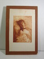 CHARLES CHAPLIN (FRANCE 1825-1871) RECLINING SEMI-NUDE LADY - BOOK PLATE - ART