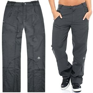 Nike Ladies Cargo Trousers Canvas Hiking Pants Outdoor Golf Sports Joggers Grey