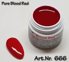 5 ml  UV Exclusiv Farbgel Pure Blood Red Gel Nr.666