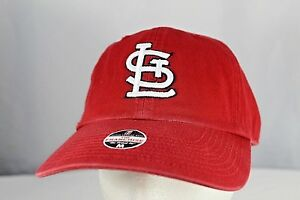 St Louis Cardinals Red Baseball Cap Fitted M