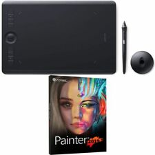 Wacom Intuos Pro Medium Pen Tablet PTH660 With Corel Painter 2019 Academic