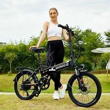Elektrofahrrad 20 Zoll Mountainbike E-Bike Pedelec Klappbar 250W Motor Citybike
