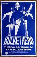 BUCKETHEAD Gig POSTER Dec. 2008 Portland Oregon Concert