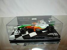 MINICHAMPS  FORCE INDIA MERCEDES SHOWCAR 2010 - SUTIL - F1 1:43 - GOOD IN BOX