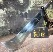 Handmade Broadsword Blade Chinese Sword High manganese steel Blade DA DAO Strong