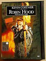 ROBIN HOOD (1991)  con Kevin Kostner - DVD USATO WARNER - CUSTODIA SNAPPER CASE