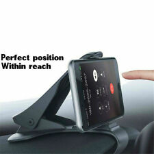 Adjustable Antiskid Car Phone Holder Clips HUD Design Dashboard Mount Universal