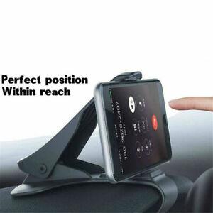Adjustable Antiskid Car Phone Holder Clips HUD Design Dashboard Mount Universal