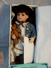 Duck House Heirloom Porcelain Collectable Doll, Kirsten. Nib.