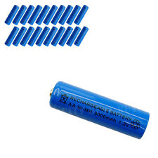 20x AA 3000mAH 1.2V NiMH Rechargeable Battery BLUE