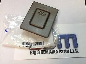 01-06 GMC Yukon XL 03-06 Cadillac Escalade ESV Seat Back Latch Button new OEM