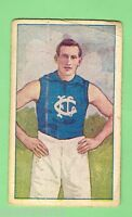1920  CARLTON  AUSTRALIAN FOOTBALLERS MAGPIE CIGARETTE  CARD - A. BOROMEO