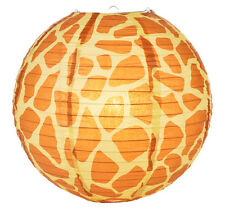 14'' Chinese Japanese Paper Lantern Safari Giraffe Print  Home Party Decor NEW