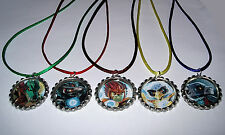 15 LEGO CHIMA NECKLACE WITH MATCHING COLOR CORDS BIRTHDAY PARTY FAVORS