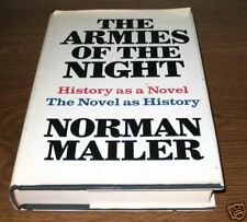 THE ARMIES OF THE NIGHT Norman Mailer First 1st Edition