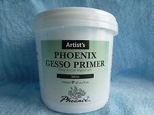 GESSO  APPRET blanc  maxi pot 1 KILO  !  PEINTURE PRIMER TOILE BEAUX ARTS