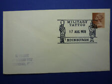 LOT 12524 TIMBRES STAMP ENVELOPPE MUSIQUE ECOSSE ANNEE 1978